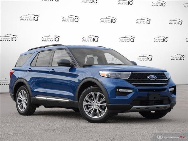 2020 Ford Explorer XLT Blue