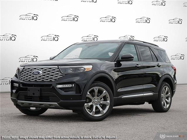 2020 Ford Explorer Platinum (Stk: XC200) in Sault Ste. Marie - Image 1 of 23