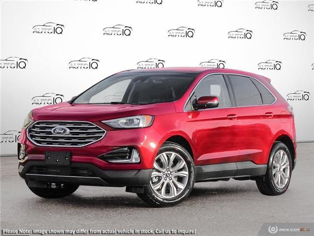 2020 Ford Edge Titanium Red
