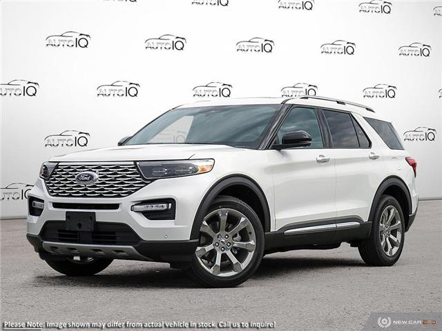 2020 Ford Explorer Platinum (Stk: XC071) in Sault Ste. Marie - Image 1 of 10