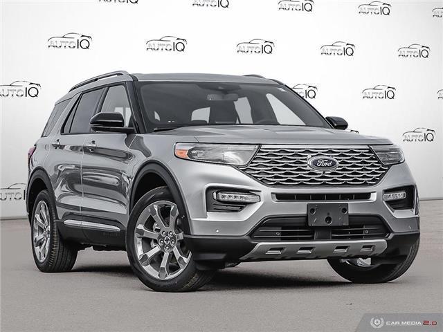 2020 Ford Explorer Platinum (Stk: 0T111) in Oakville - Image 1 of 27