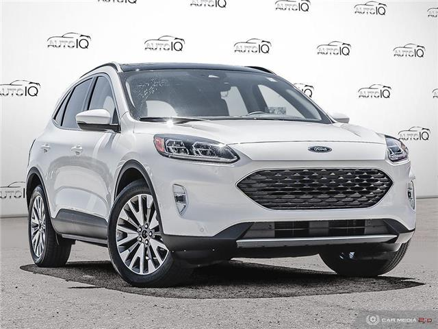 2020 Ford Escape Titanium Hybrid (Stk: 0T321) in Oakville - Image 1 of 27