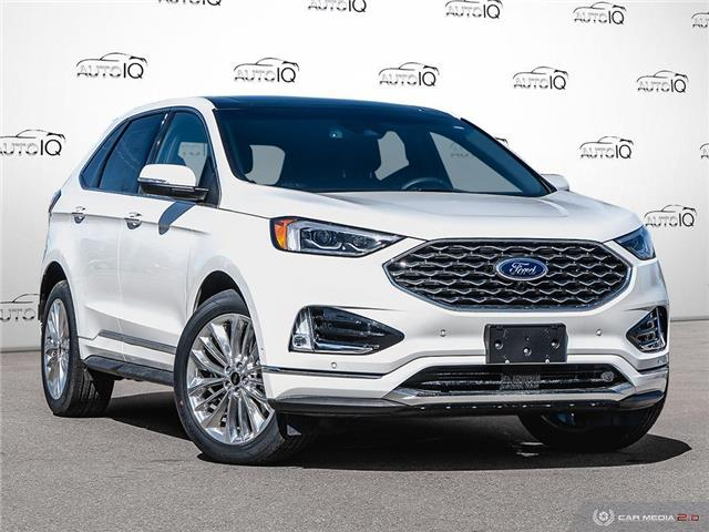 2020 Ford Edge Titanium (Stk: 0D029) in Oakville - Image 1 of 27