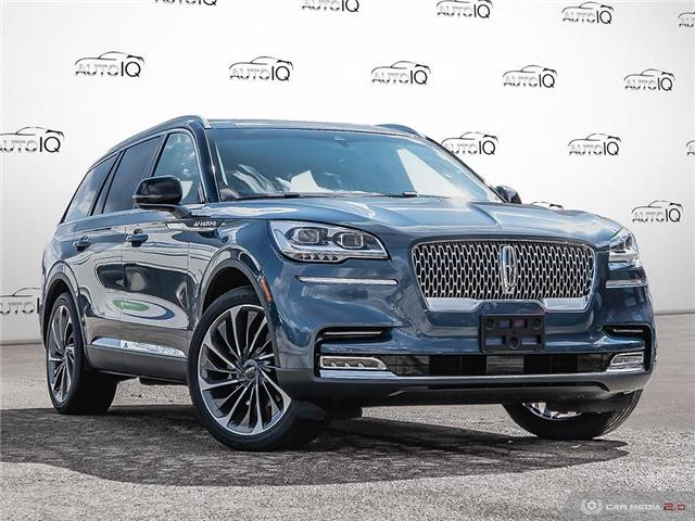 2020 Lincoln Aviator Reserve Blue
