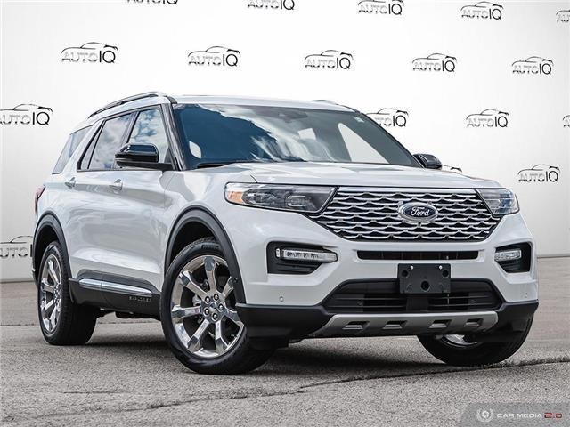 2020 Ford Explorer Platinum (Stk: 0T503D) in Oakville - Image 1 of 27
