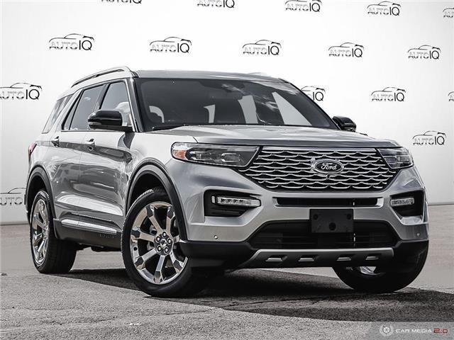 2020 Ford Explorer Platinum (Stk: 0T791) in Oakville - Image 1 of 26