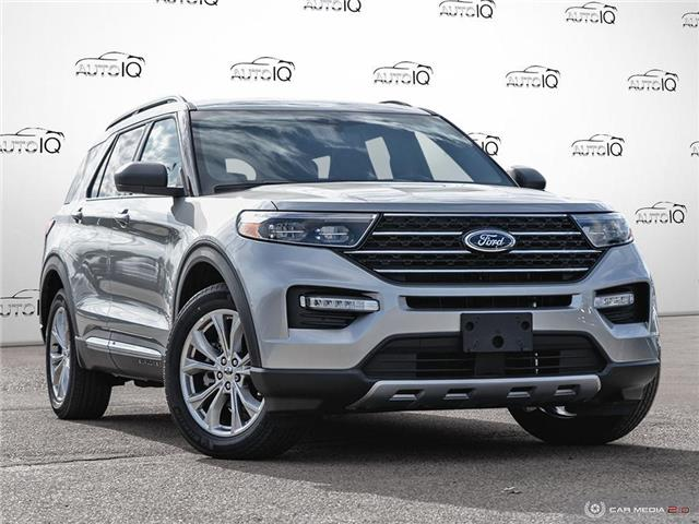2020 Ford Explorer XLT Silver