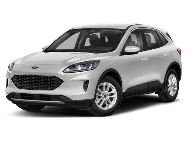 2020 Ford Escape S White