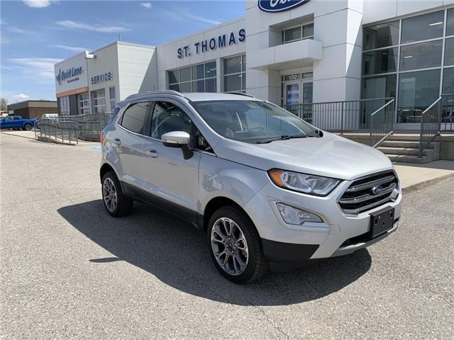 2020 Ford EcoSport Titanium (Stk: S0039) in St. Thomas - Image 1 of 27