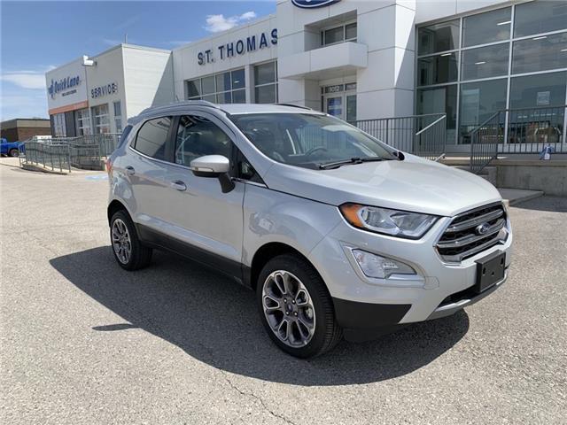 2020 Ford EcoSport Titanium (Stk: S0044) in St. Thomas - Image 1 of 27