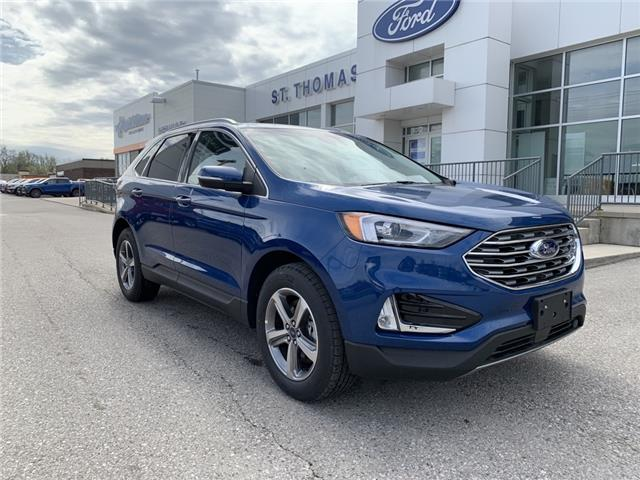 2020 Ford Edge SEL (Stk: S0214) in St. Thomas - Image 1 of 24