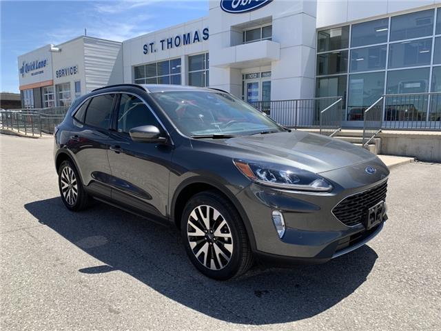 2020 Ford Escape SEL (Stk: S0134) in St. Thomas - Image 1 of 24