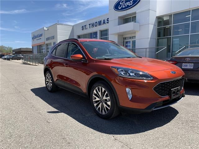 2020 Ford Escape Titanium Hybrid (Stk: S0129) in St. Thomas - Image 1 of 27