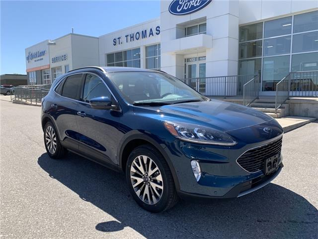 2020 Ford Escape Titanium Hybrid (Stk: S0128) in St. Thomas - Image 1 of 29