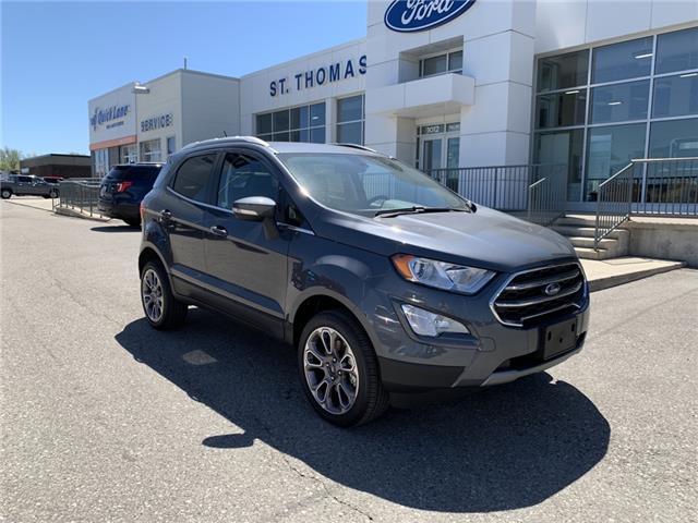 2020 Ford EcoSport Titanium (Stk: S0290) in St. Thomas - Image 1 of 24