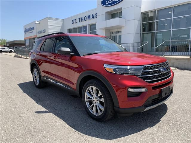 2020 Ford Explorer XLT (Stk: S0031) in St. Thomas - Image 1 of 27