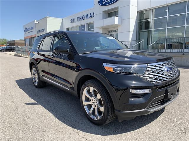 2020 Ford Explorer Platinum (Stk: S0059) in St. Thomas - Image 1 of 30