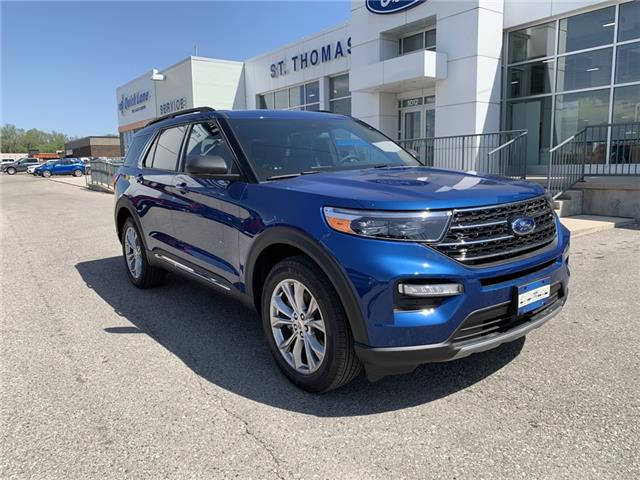 2020 Ford Explorer XLT (Stk: S0084) in St. Thomas - Image 1 of 28