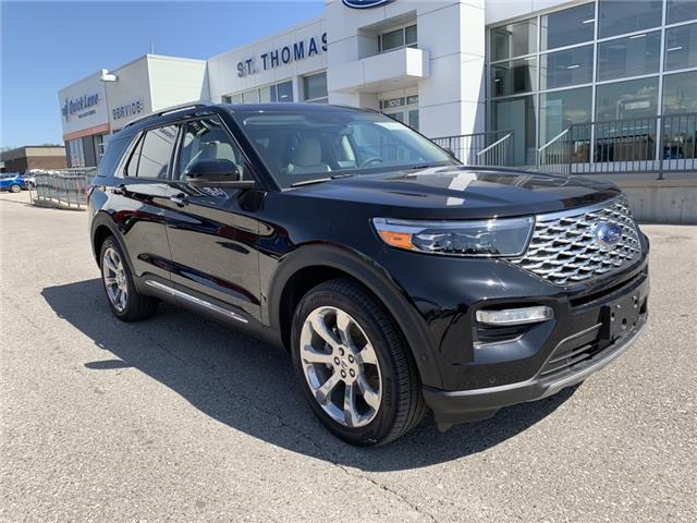 2020 Ford Explorer Platinum (Stk: S0025) in St. Thomas - Image 1 of 30