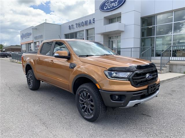2020 Ford Ranger Lariat (Stk: T0077) in St. Thomas - Image 1 of 26