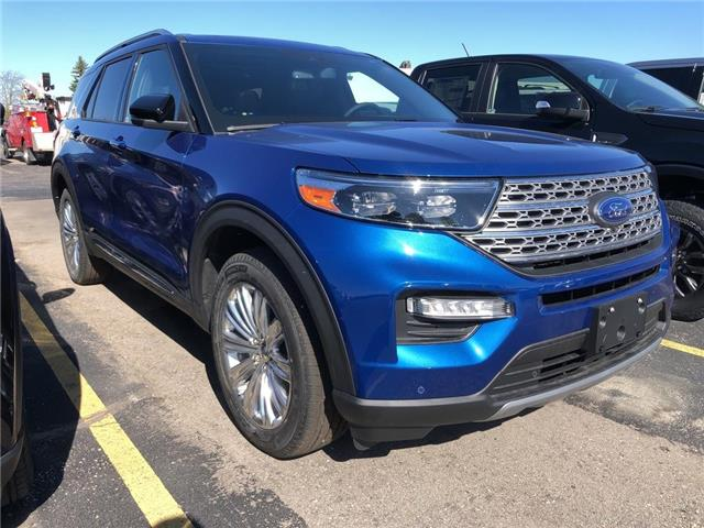 2020 Ford Explorer Limited (Stk: XB123) in Waterloo - Image 1 of 6
