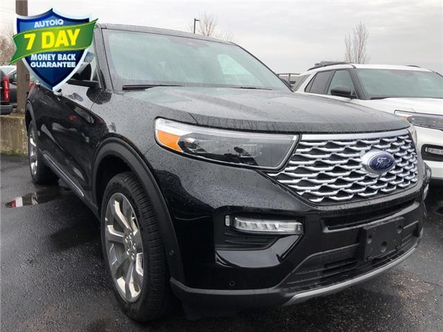 2020 Ford Explorer Platinum (Stk: XA740) in Waterloo - Image 1 of 6