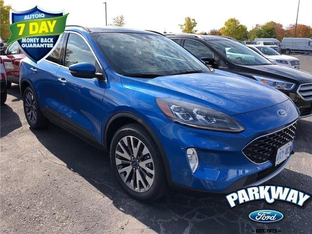 2020 Ford Escape Titanium Blue