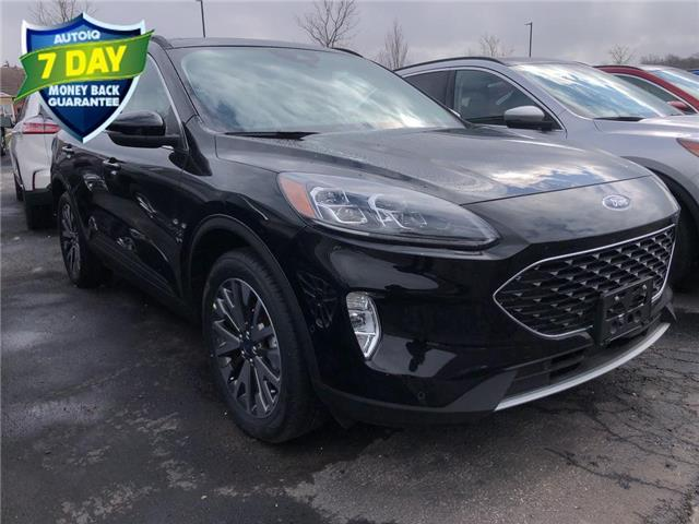 2020 Ford Escape Titanium Hybrid (Stk: ZB194) in Waterloo - Image 1 of 5
