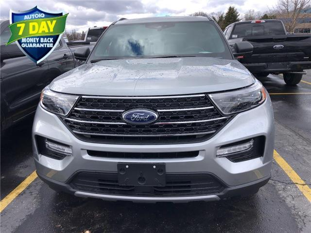 2020 Ford Explorer XLT (Stk: XB534) in Waterloo - Image 1 of 5