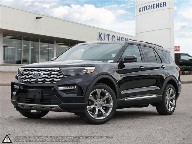 2020 Ford Explorer Platinum (Stk: 0P10050) in Kitchener - Image 1 of 30