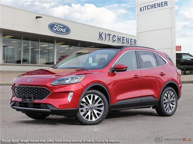 2020 Ford Escape Titanium Hybrid (Stk: 20E3490) in Kitchener - Image 1 of 23