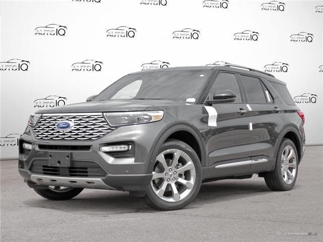 2020 Ford Explorer Platinum (Stk: 20P4350) in Kitchener - Image 1 of 27