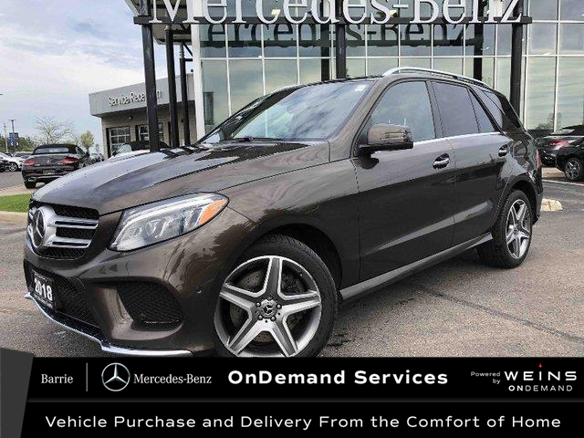 2018 Mercedes-Benz GLE 400 Base (Stk: 20MB106A) in Innisfil - Image 1 of 21