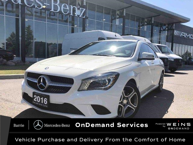 2016 Mercedes-Benz CLA-Class Base (Stk: 20MB261A) in Innisfil - Image 1 of 17