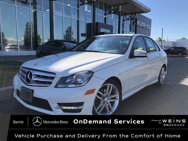 2012 Mercedes-Benz C-Class Base (Stk: 20MB057A) in Innisfil - Image 1 of 17