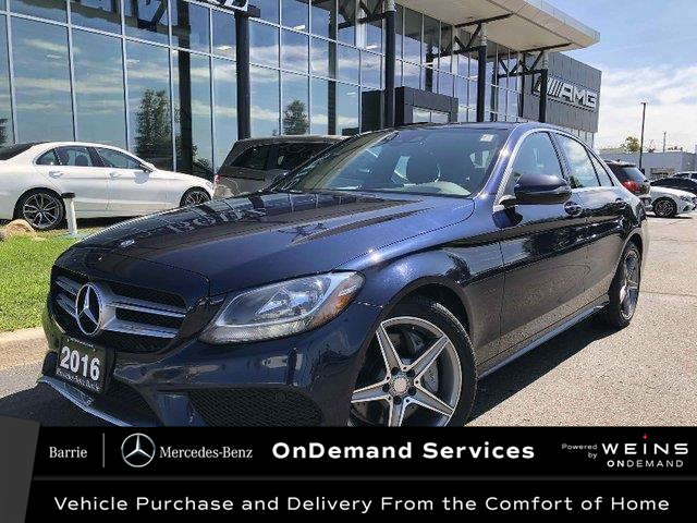 2016 Mercedes-Benz C-Class Base (Stk: 20MB265A) in Innisfil - Image 1 of 27