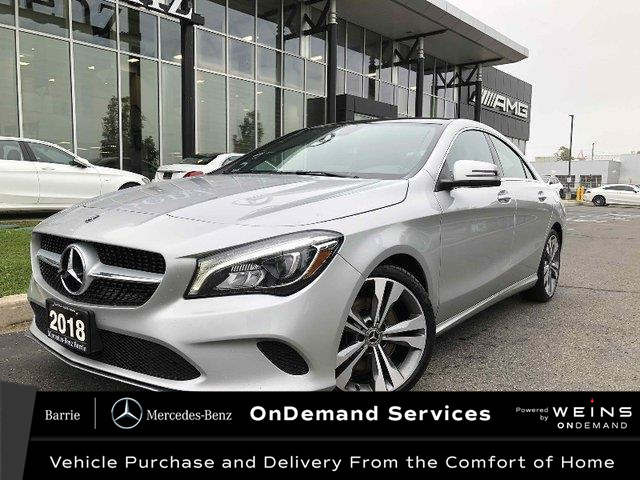 2018 Mercedes-Benz CLA 250 Base (Stk: 20MB325A) in Innisfil - Image 1 of 26