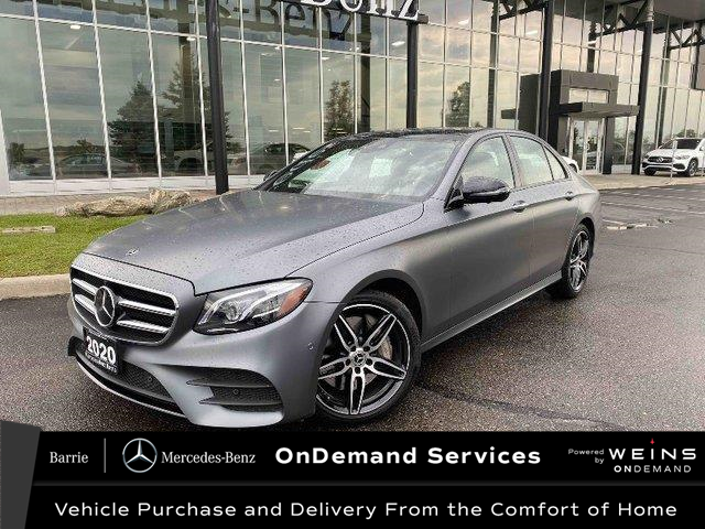 2020 Mercedes-Benz E-Class Base (Stk: U3078) in Innisfil - Image 1 of 13
