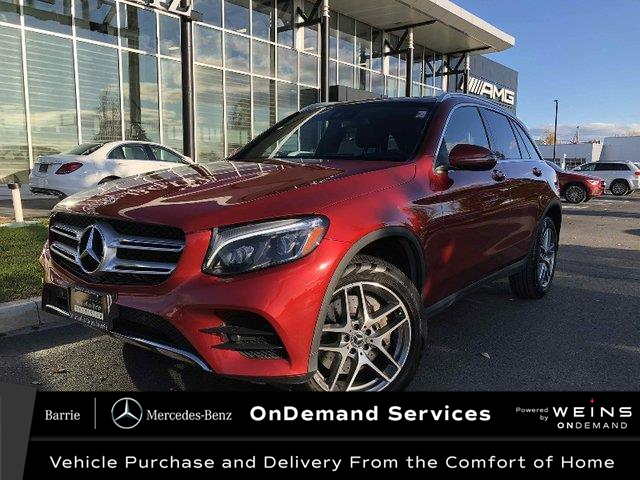2019 Mercedes-Benz GLC 300 Base (Stk: 20MB165A) in Innisfil - Image 1 of 31