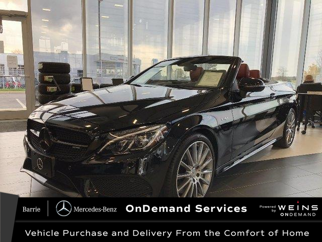 2017 Mercedes-Benz AMG C 43 Base (Stk: U3085) in Innisfil - Image 1 of 34