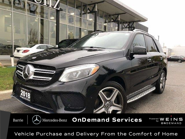2018 Mercedes-Benz GLE 400 Base (Stk: 20MB375A) in Innisfil - Image 1 of 29