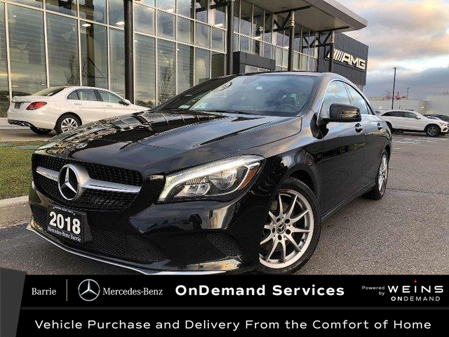 2018 Mercedes-Benz CLA 250 Base (Stk: U3093) in Innisfil - Image 1 of 25