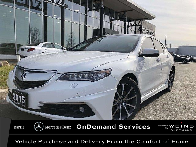 2015 Acura TLX Elite (Stk: 20MB335A) in Innisfil - Image 1 of 27
