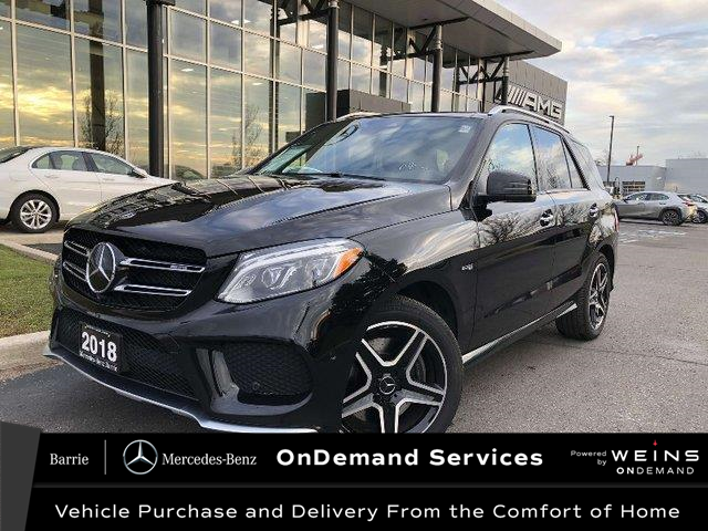 2018 Mercedes-Benz AMG GLE 43 Base (Stk: U3094) in Innisfil - Image 1 of 28