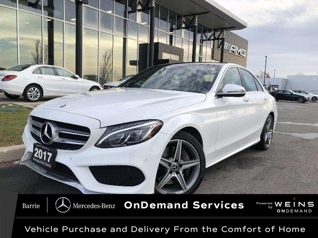 2017 Mercedes-Benz C-Class Base (Stk: 20MB313A) in Innisfil - Image 1 of 23