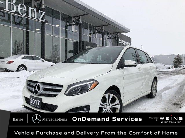 2017 Mercedes-Benz B-Class Sports Tourer (Stk: U3108) in Innisfil - Image 1 of 24