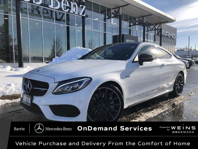 2018 Mercedes-Benz AMG C 43 Base (Stk: U3115) in Innisfil - Image 1 of 22