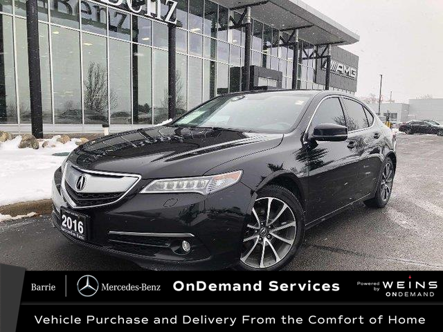 2016 Acura TLX Elite (Stk: 20MB378C) in Innisfil - Image 1 of 22