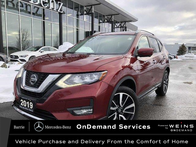 2019 Nissan Rogue SL (Stk: U3092A) in Innisfil - Image 1 of 20