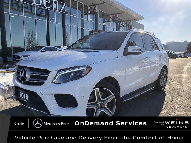 2018 Mercedes-Benz GLE 400 Base (Stk: U3120) in Innisfil - Image 1 of 31